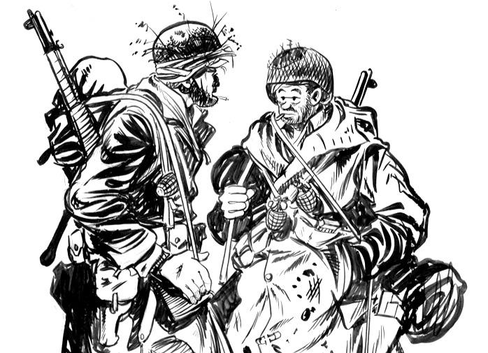 Thumbnail for The Daily Heller: Bill Mauldin, WW2 Cartoon Hero, at 100