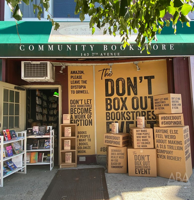 Thumbnail for Indie Bookstores Box It Out With Amazon