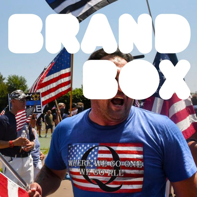Thumbnail for BrandBox: QAnon, a Brand Audit