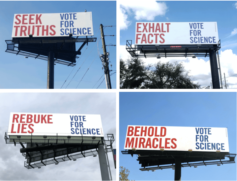 Thumbnail for The Daily Heller: Science is Nonpartisan. Knowledge is Universal. Vote!