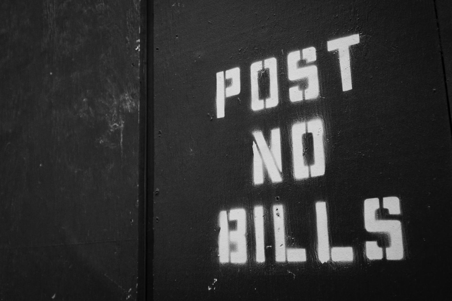 Thumbnail for The Daily Heller: Post More Bills