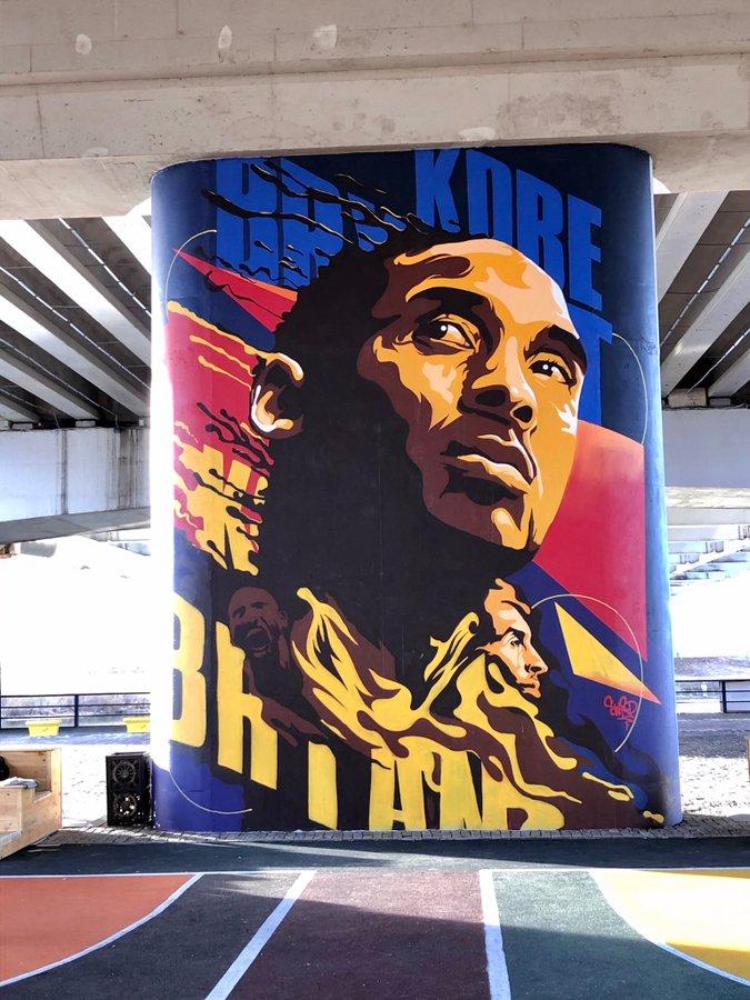 Thumbnail for Some of the Best Kobe Bryant Memorial Murals