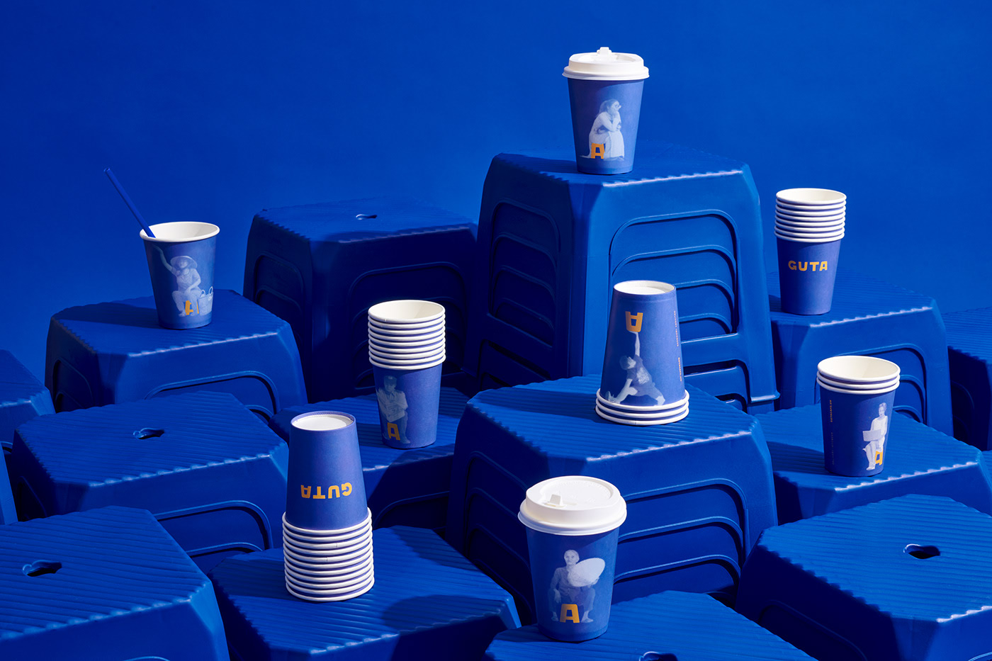 Thumbnail for M-N Associates Draw Inspiration from the Ubiquitous Stool For Guta Cafe Refresh