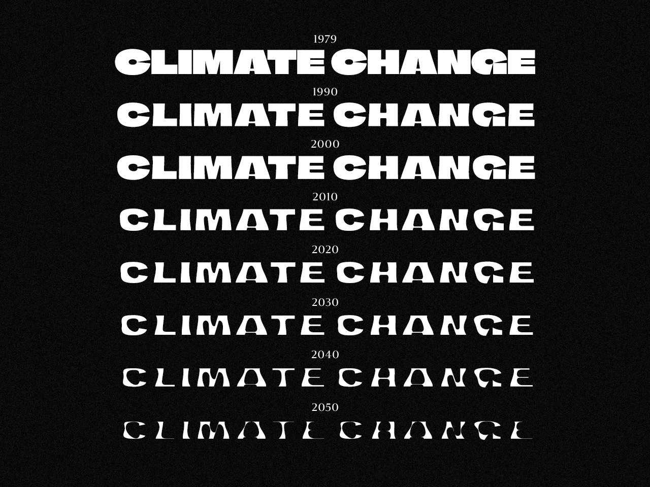 Thumbnail for Helsingin Sanomat Releases Variable Font Highlighting Effects Of Climate Change