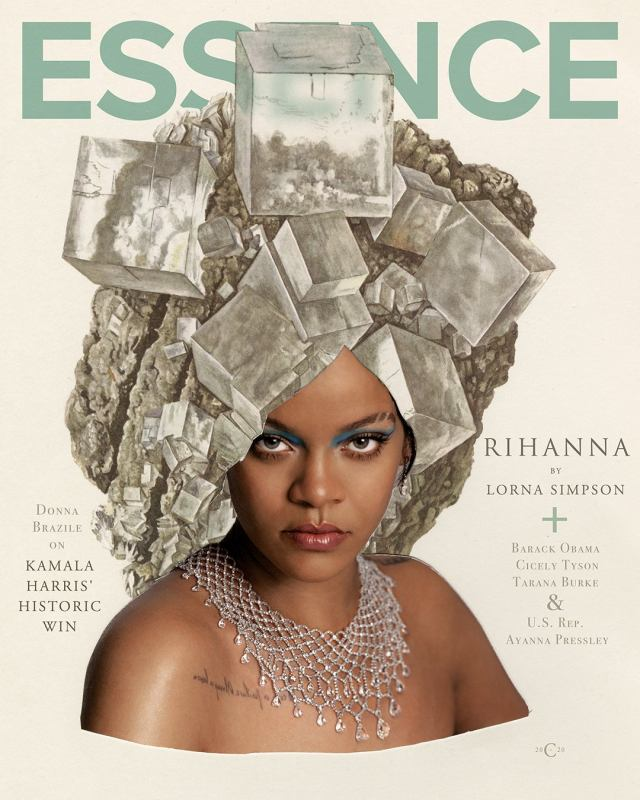 Thumbnail for Rihanna And Lorna Simpson Grace Us With A Dazzling 'Essence' Cover