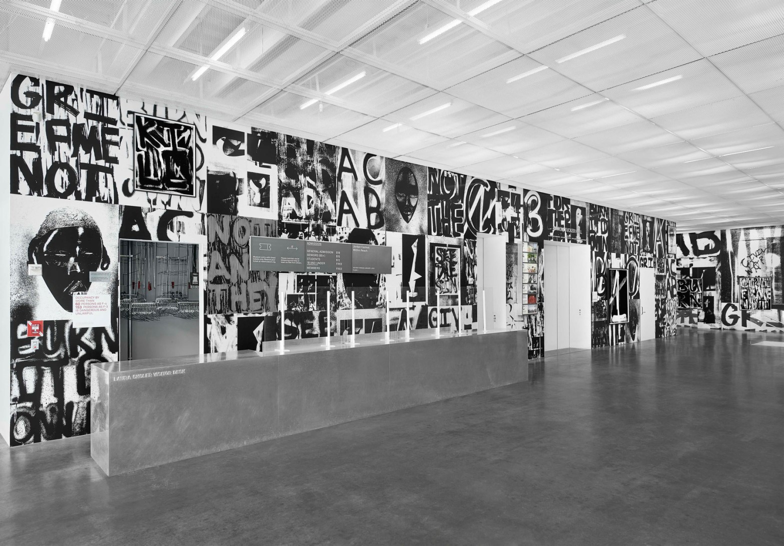 Thumbnail for Adam Pendleton Takes Over The New Museum Lobby With Installation