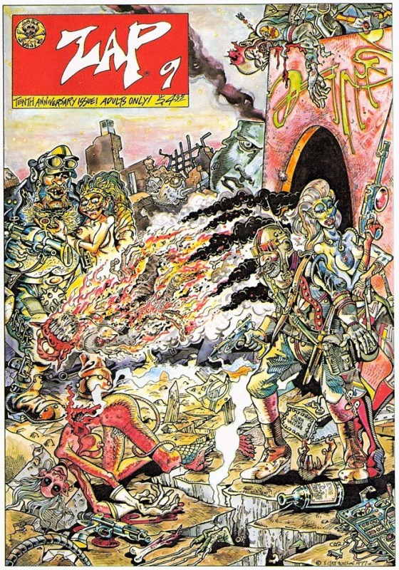 Thumbnail for The Daily Heller: S. Clay Wilson, Underground Comix Baddest Boy, Dies at 79