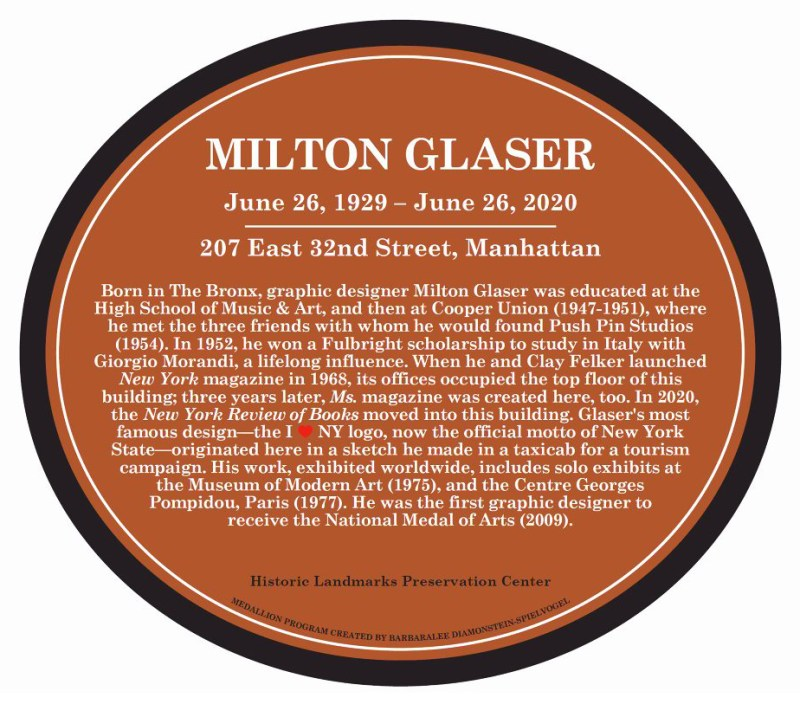 Thumbnail for The Daily Heller: Glaser's Building is Landmarked