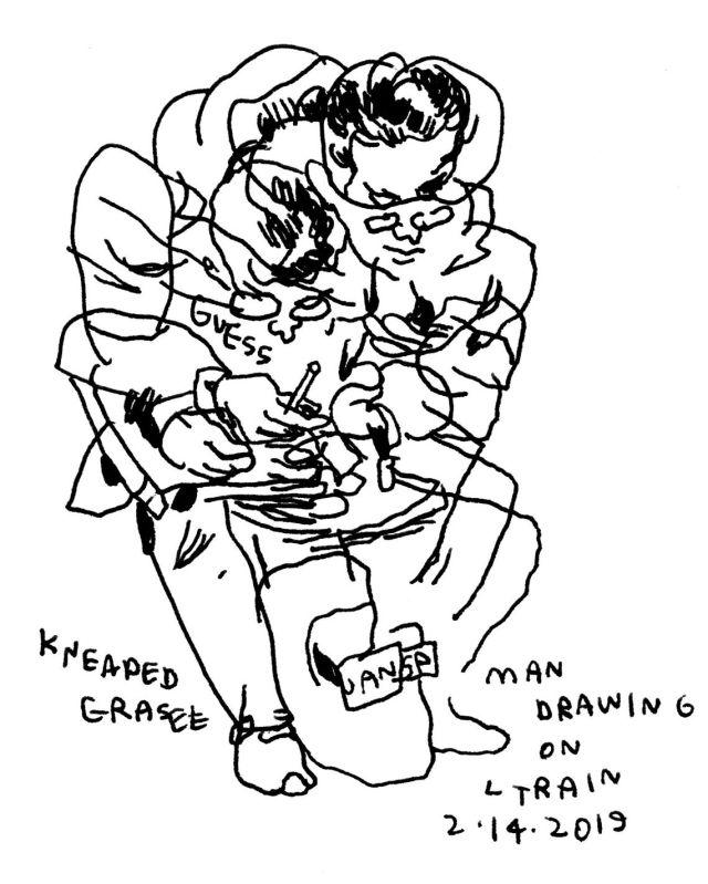Thumbnail for The Daily Heller: Jason Polan Still Sketching