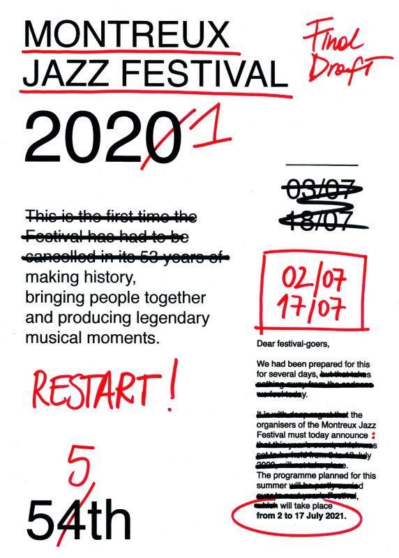 Thumbnail for Montreux Jazz Festival Announces 'RESTART' Poster Competition Winners