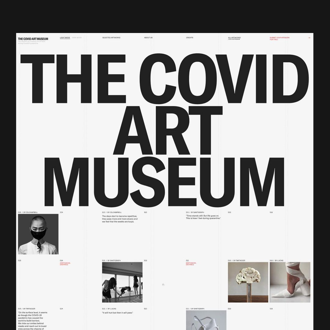 Thumbnail for Art And Community Collide With The COVID Art Museum