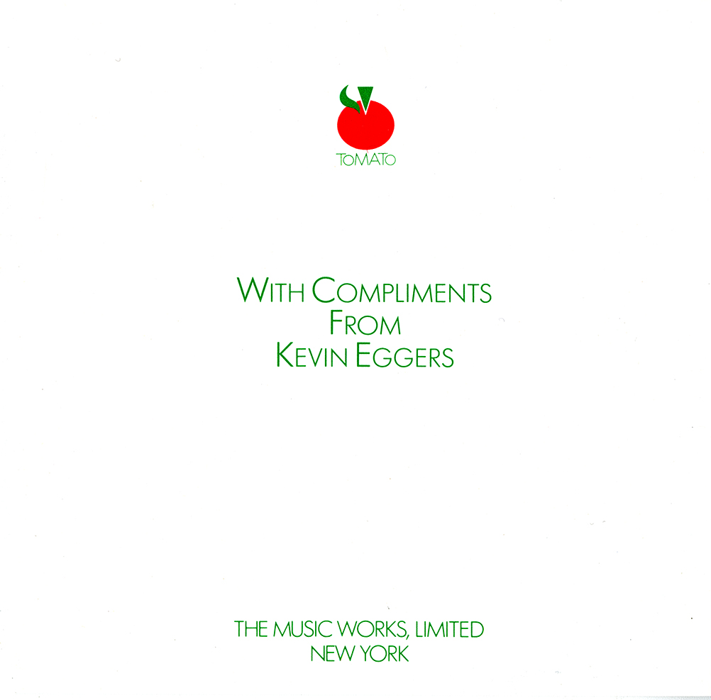 Thumbnail for The Glaser Nobody Knows: a Marriage Announcement for Kevin Eggers and Tomato Records