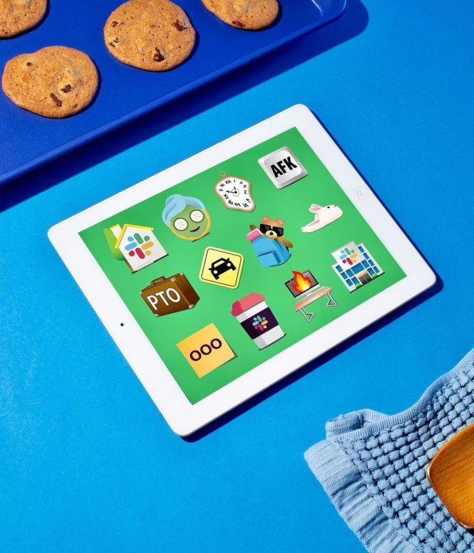 Thumbnail for &Walsh Designs a Set of Emoji Celebrating Our New Hybrid Work Lifestyle For Slack