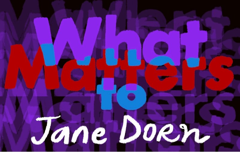 Thumbnail for What Matters: Jane Dorn on Carving Squirrels Out of Soap and the Healing Power of Gladys Knight
