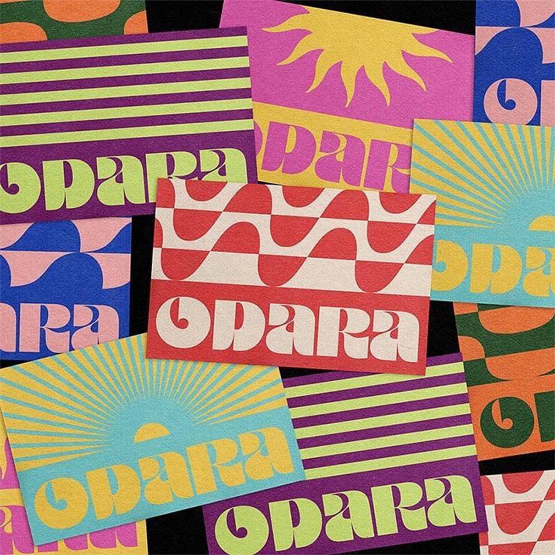Thumbnail for Monga Design Refreshed  Odara Comunicação Criativa's Branding System