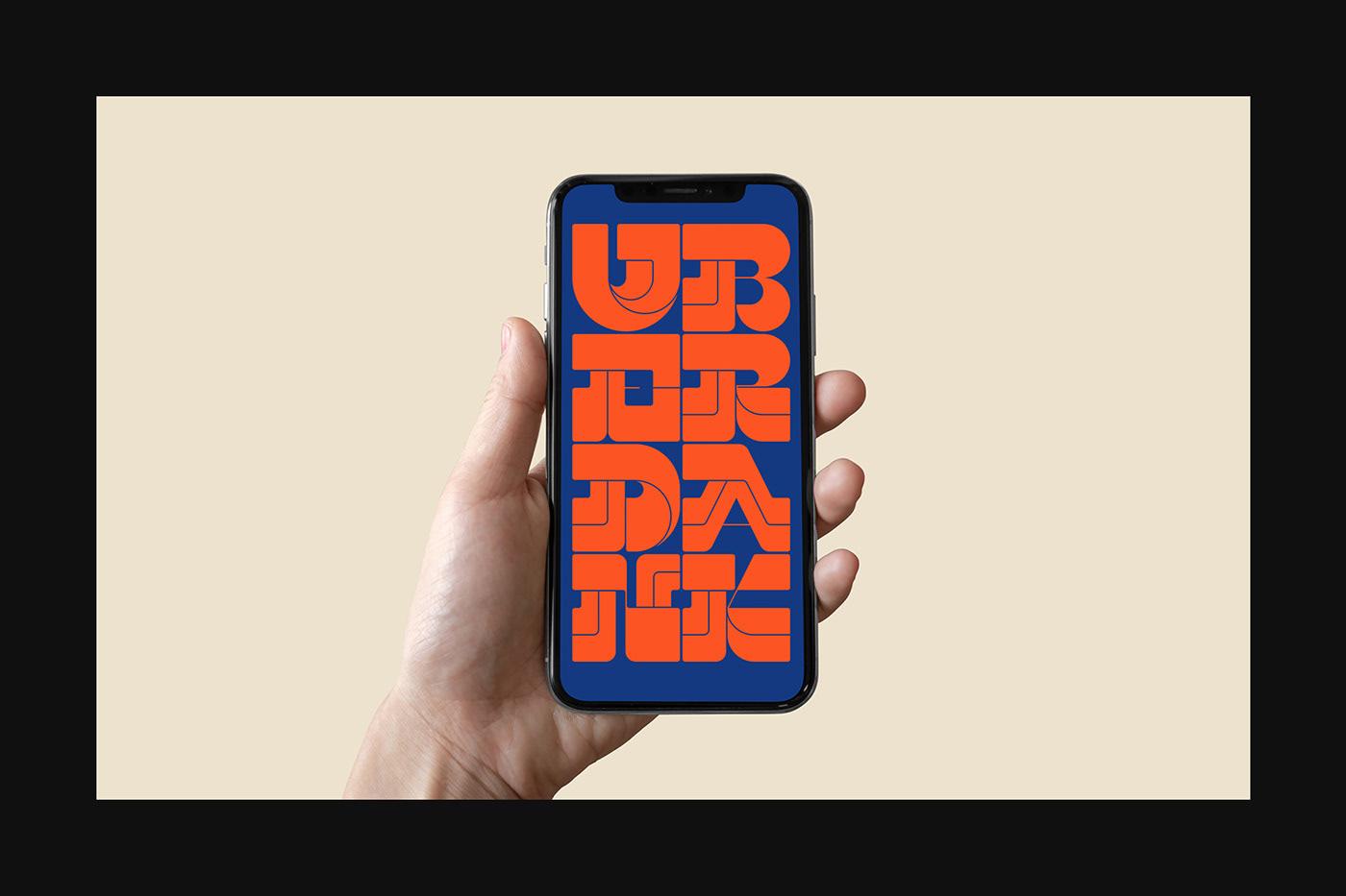 Thumbnail for Type Tuesday: Let's Get UBERDANK
