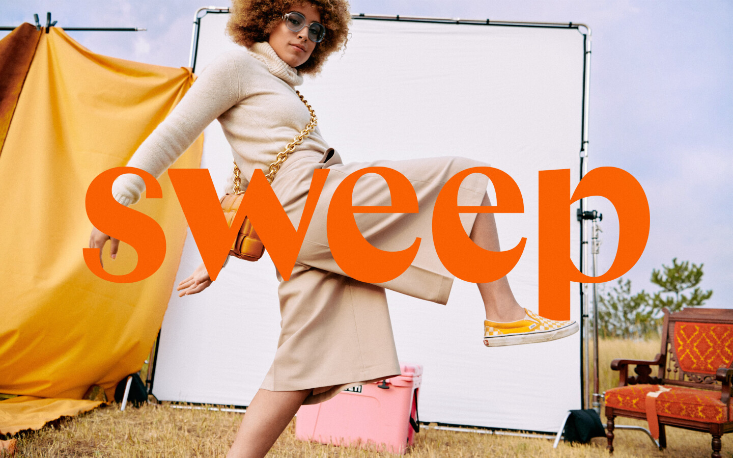 Thumbnail for Meet Sweep's Perfectly Imperfect Sun-Kissed Branding Designed By The Office of Ordinary Things