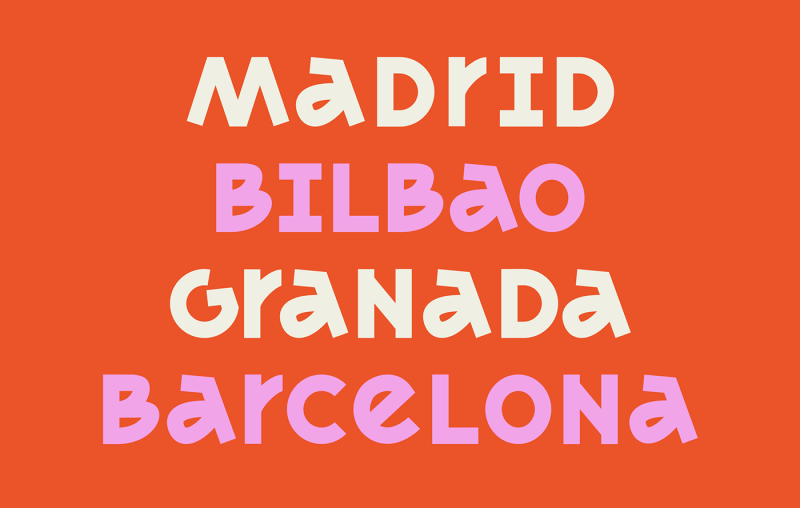 Thumbnail for Type Tuesday: MADRID's Eclectic Letterforms