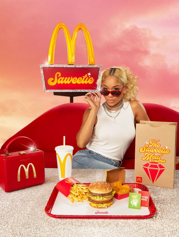 Thumbnail for Satisfy Your Saweetie Tooth With the Special-Edition McDonald's 'Saweetie Meal'
