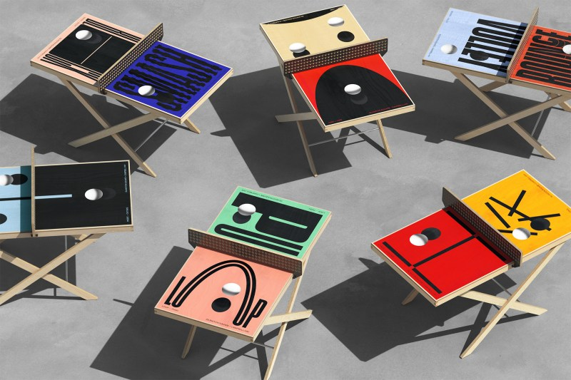 Thumbnail for Vibrant Ping Pong Table Installation Brings Flair to London's Islington Square