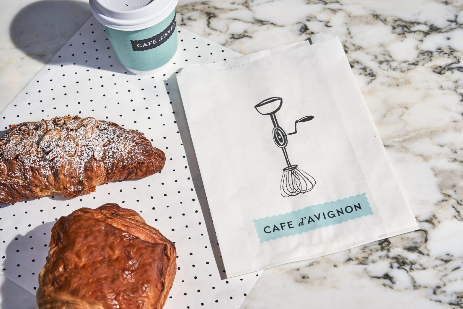 Thumbnail for Mucca Serves Old World Tradition to NYC With Charming Identity for Cafe d'Avignon