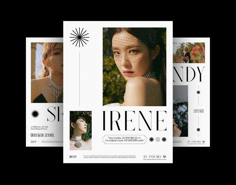 Red Velvet band poster design