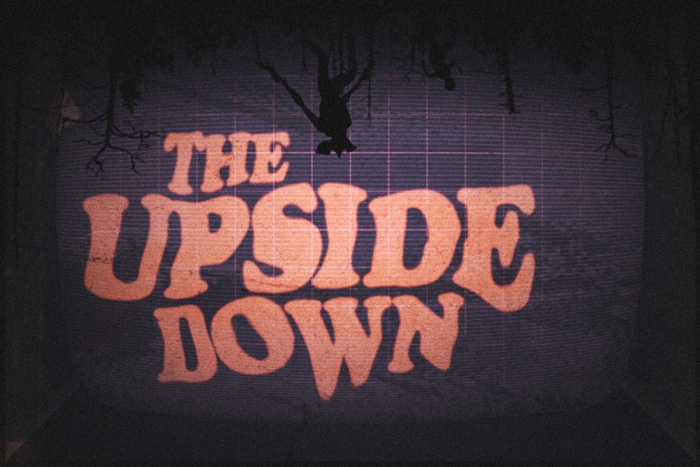 Arcade Font for The Upside Down