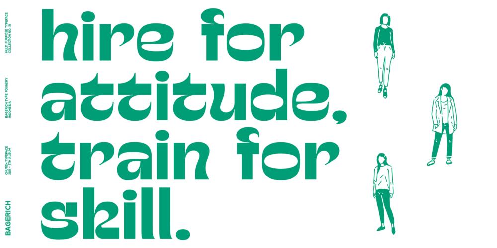 Chuten Typeface