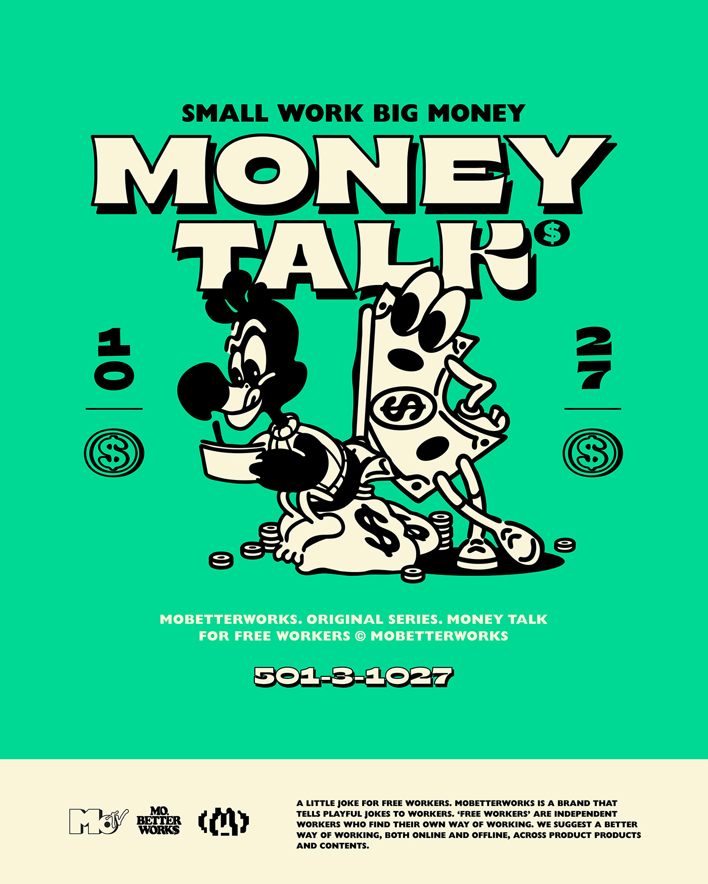 Thumbnail for Money Talk's Branding Will Make You Green With Envy