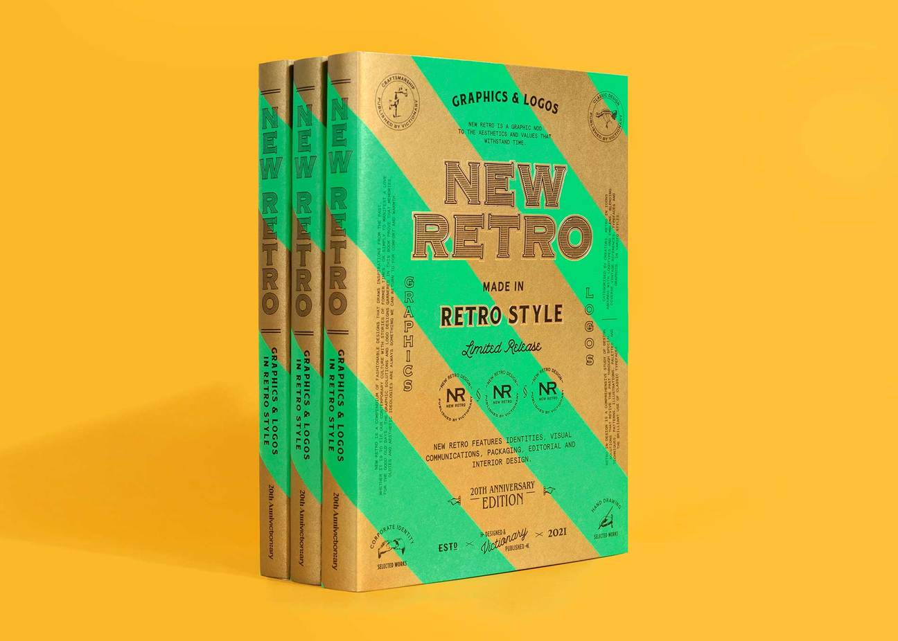 Thumbnail for 'New Retro' Showcases Work From the Past, Present, and Future in a Way That's Sure To Inspire