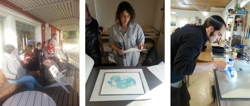 Printmakers Open Forum Starting Summer 2018 Print Camp