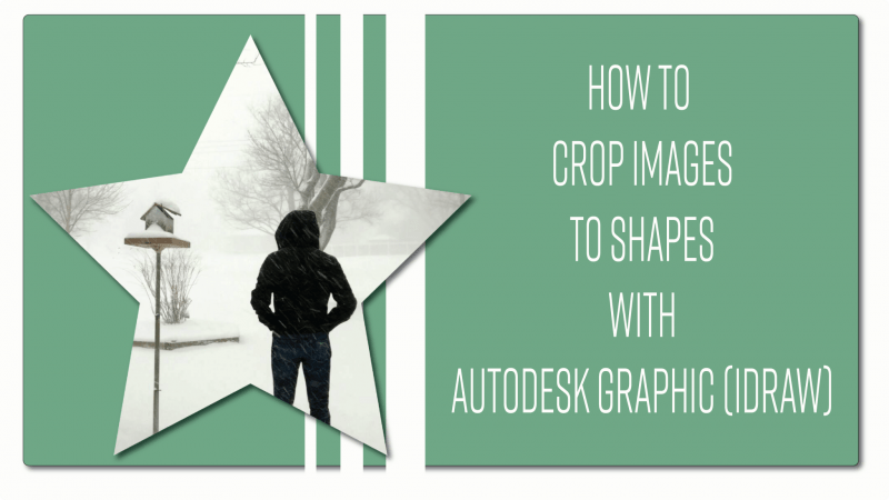 Crop images with Graphic iDraw