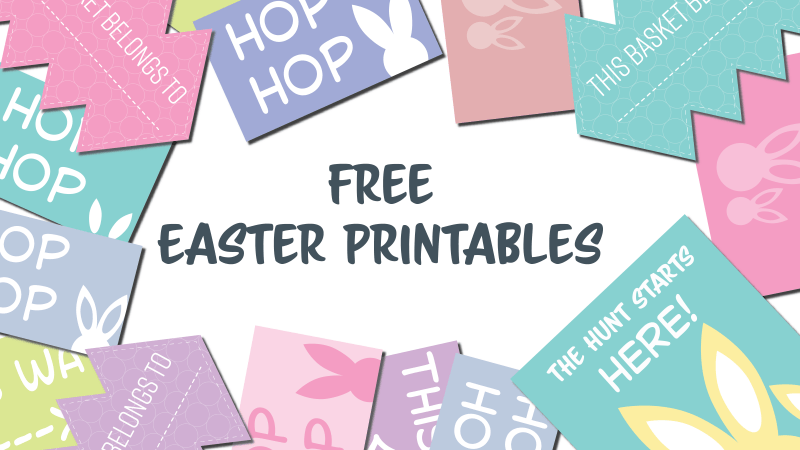 Free Easter Printable bundle