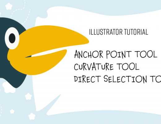 Anchor point tool, curvature tool
