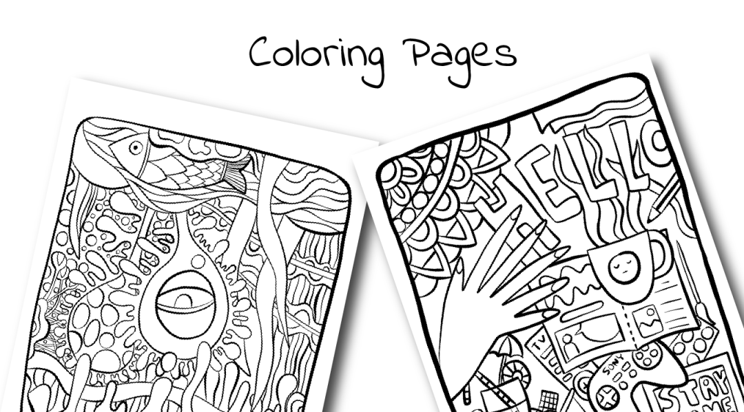 coloring pages free download