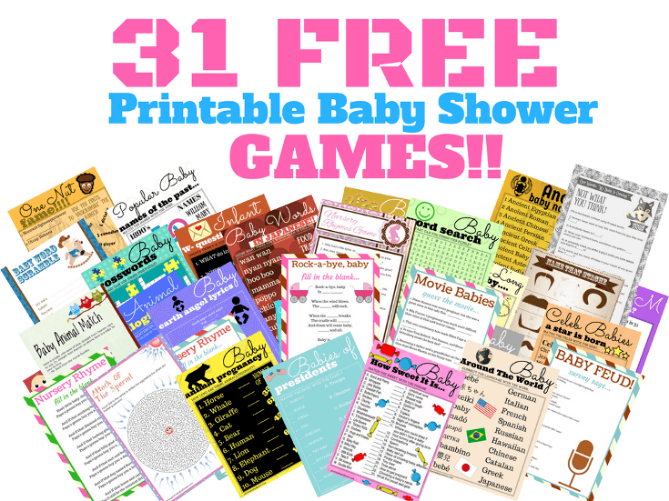 31 free printable baby shower games your guests will absolutely love free printable baby shower games pronofoot35fo Choice Image