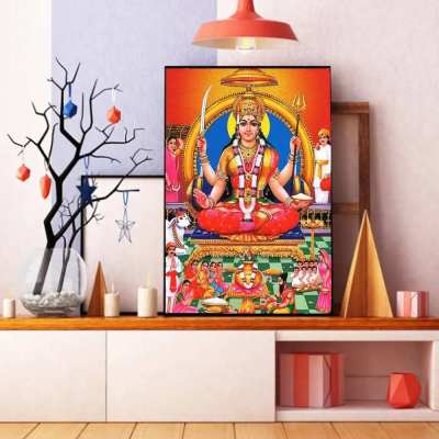 Maa Durga Wall Art Painting