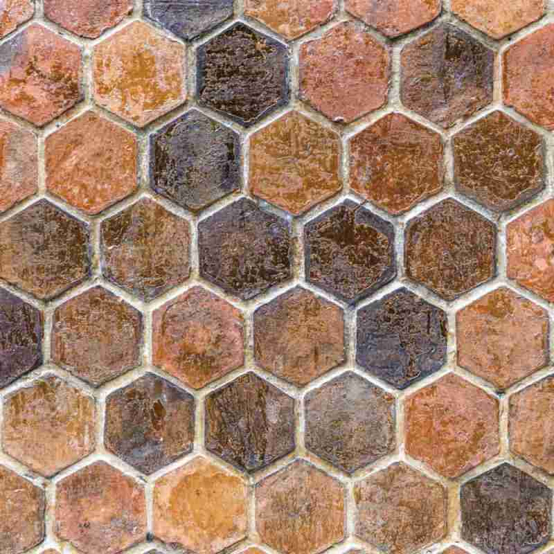 Removable Wallpaper With 3d Honeycomb Stone Bricks 2