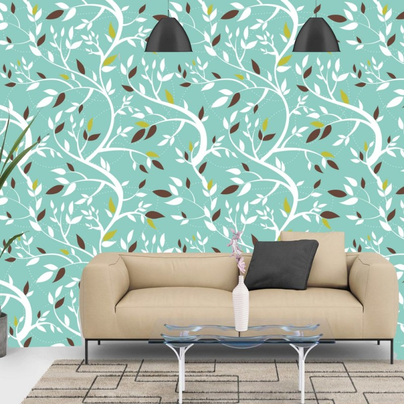 Swaying Branches Pattern Peel And Stick Wallpaper 2