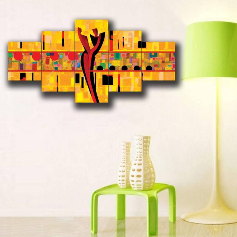 Order Couple in love canvas wall decor, 5 Panel Art Small 1
