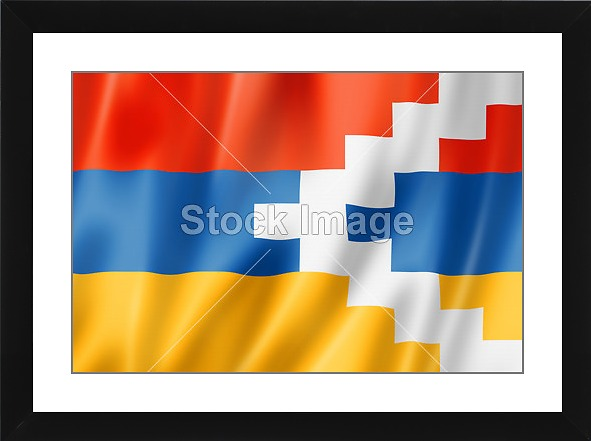 printoyster nagorno karabakh flag