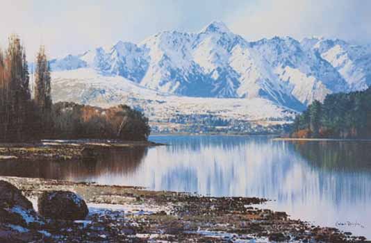The Remarkables Queenstown By Graham Brinsley New