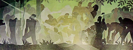 Idyll In The Deep South By Aaron Douglas New Zealand Fine