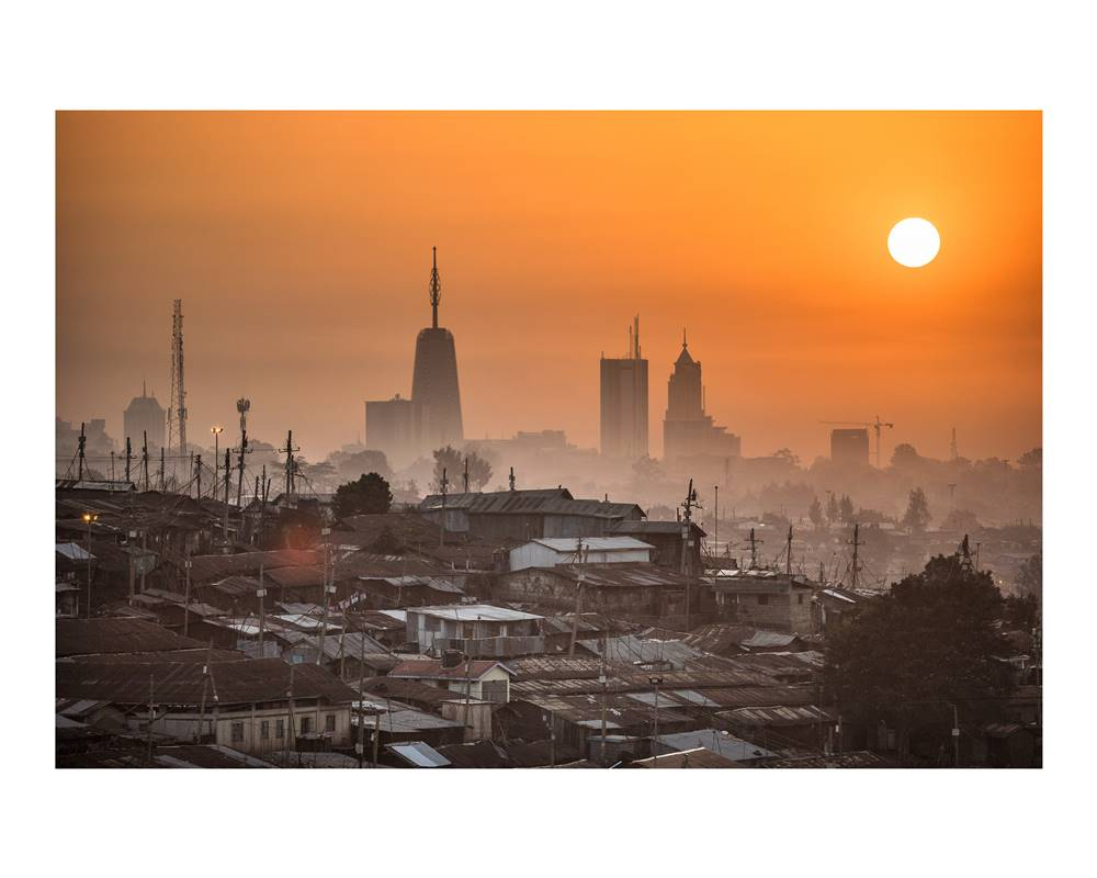Kibera at Sunrise