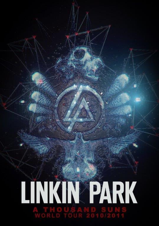 linkin park a thousand suns world tour poster