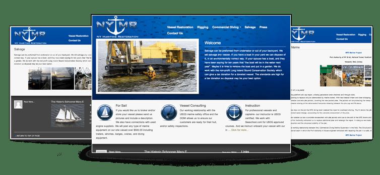 NY Maratime Restoration Website