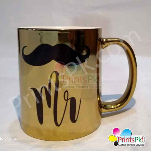 Golden Shiny Mug