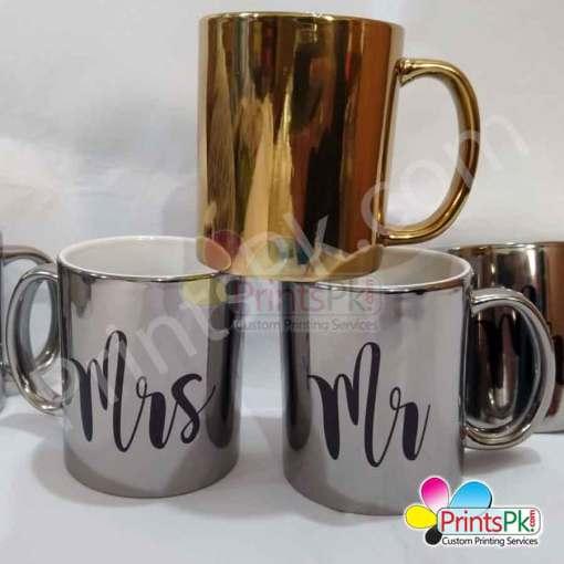 Electroplated Mug Printing