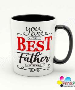 You are the best father in the world mug