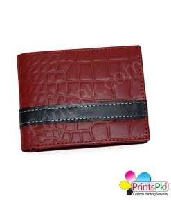Red Crocodile Wallet